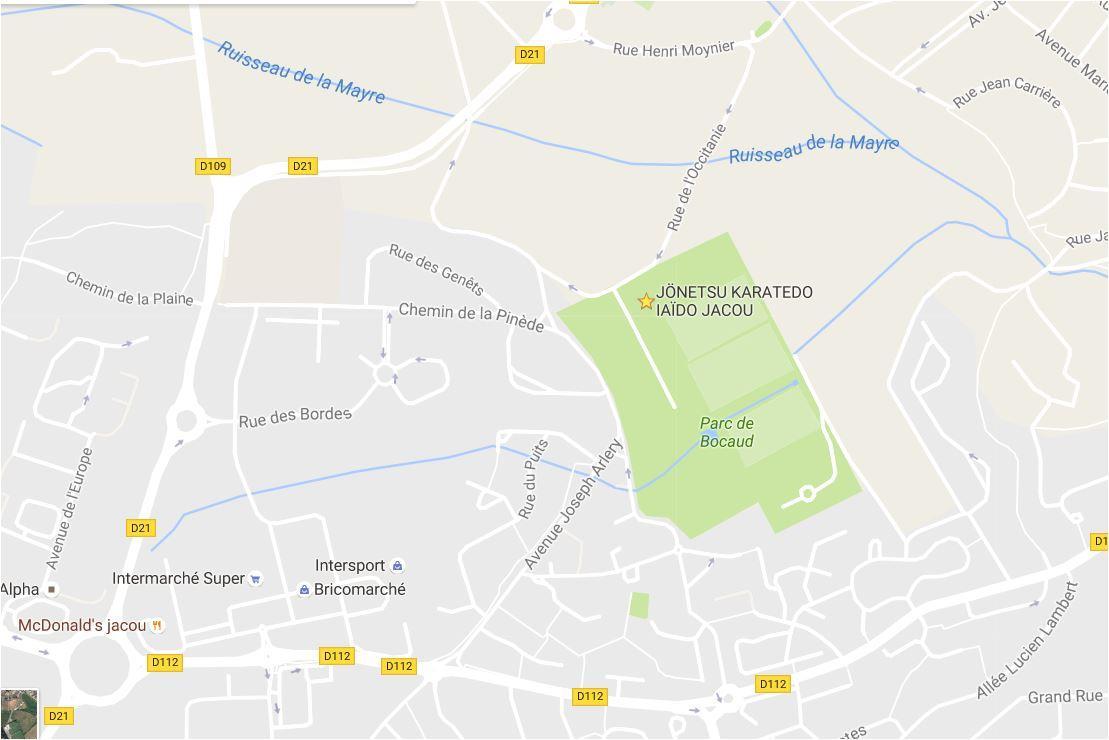 Jki club map